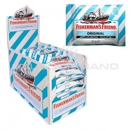 Fisherman's friend eucalyptus menthol SANS SUCRES 25g - 24 sachets