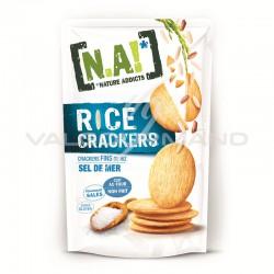N.A! Rice crakers sel de mer 70g - 12 paquets