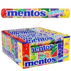 Mentos rainbow - boîte de 40 rouleaux