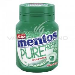 Mentos bottle pure fresh Chloro SANS SUCRES - le lot de 6 en stock
