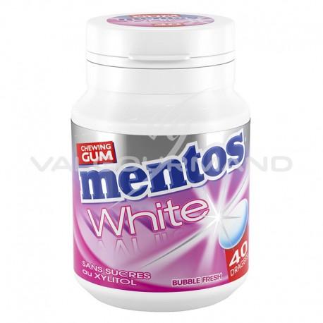 Mentos bottle white Bubble fresh SANS SUCRES - le lot de 6