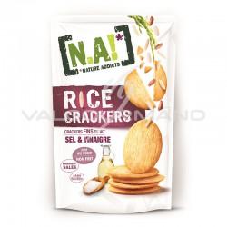 N.A! Rice crakers sel et vinaigre 70g - 12 paquets