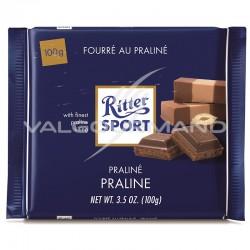 Ritter Sport fourré praliné lait 100g - boîte de 13