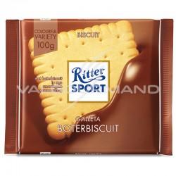 Ritter Sport biscuit 100g - boîte de 11