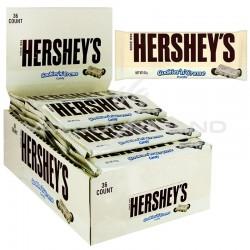 Cookies & cream bar 40g Hershey's - boite de 24 en stock