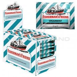 Fisherman's friend spearmint SANS SUCRES 25g - 24 sachets en stock