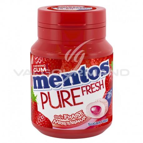 Mentos bottle pure fresh Fraise SANS SUCRES - le lot de 6
