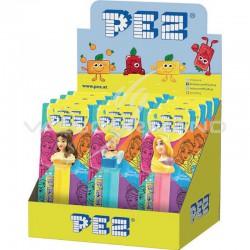 Pez Figurine Disney Princesse + 1 recharge - le lot de 12 en stock
