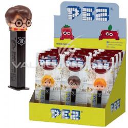 Pez figurines Harry Potter + 1 recharge - le lot de 12