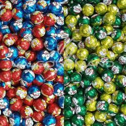 PRECOMMANDE - Boules de Noël en chocolat - 5kg