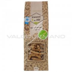Pâtes Penne Rigate Terre de blé 500g - 12 paquets en stock