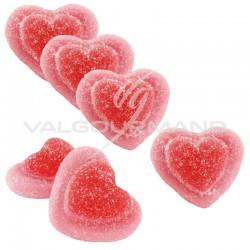Coeurs de fraise sucrés - 2kg