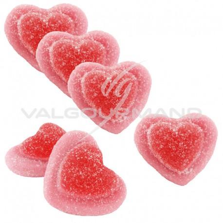 Coeurs de fraise sucrés - 2kg (soit 4.40€ le kg !)