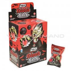 Bubble gum bloods balls liquide - boîte de 200
