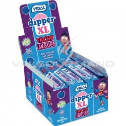 Dipper XL blue tache langues framboise Vidal - boîte de 100
