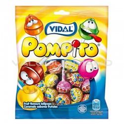 Pompito (sucettes) 100g - 14 sachets en stock