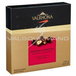 Equinoxe amandes/noisettes au chocolat noir Valrhona - coffret de 250g
