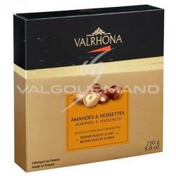 Equinoxe amandes/noisettes au chocolat Dulcey et lait Valrhona - coffret de 250g