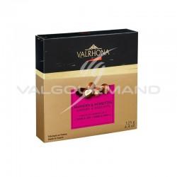 Equinoxe amandes/noisettes au chocolat noir et lait Valrhona - coffret de 125g