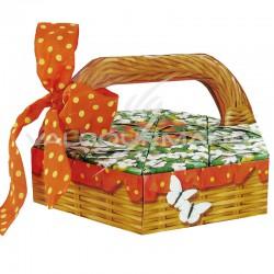 Composition Panier Gourmand - le kit avec dragées en stock