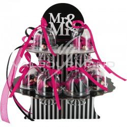 Composition Mr et Mrs - le kit avec dragées en stock