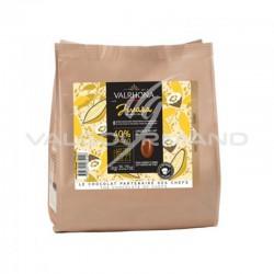Fèves de chocolat Jivara lactée 40% Valrhona - 1kg