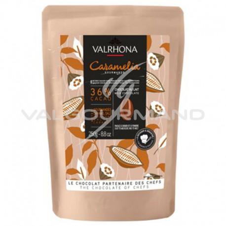 Fèves de chocolat Caramelia 36% Valrhona - 250g