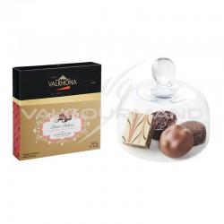 Petits délices 16 chocolats Valrhona - coffret de 145g en stock
