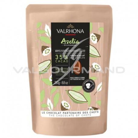 Fèves de chocolat Azelia 35% Valrhona - 250g