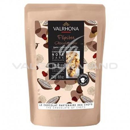 Pépites en chocolat noir 52% Valrhona - 250g