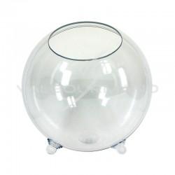 Boule Bonbonnière en plexiglass 19,5CM - pièce en stock