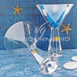 Coupe Cristal taillée main MAMIE - pièce en stock