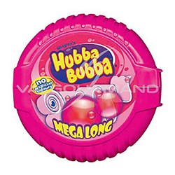 Hubba bubba fancy fruits - le lot de 12 rouleaux