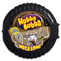 Hubba bubba cola - le lot de 12 rouleaux