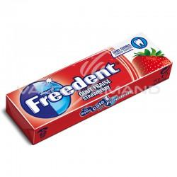 Freedent dragées fraise SANS SUCRES - le lot de 30 en stock