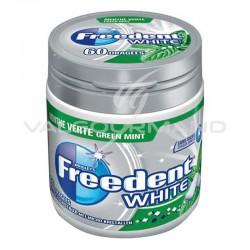 Freedent Box white menthe verte SANS SUCRES 84g - 6 boîtes en stock