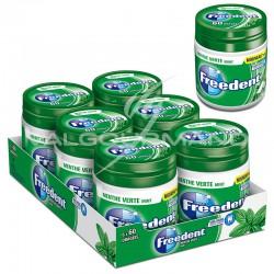 Freedent Box menthe verte SANS SUCRES 84g - 6 boîtes en stock