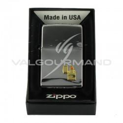 Zippo 250ze with 250ze Lighter Emblem