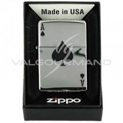 Zippo 24011 Lucky Ace - carre d'as en stock