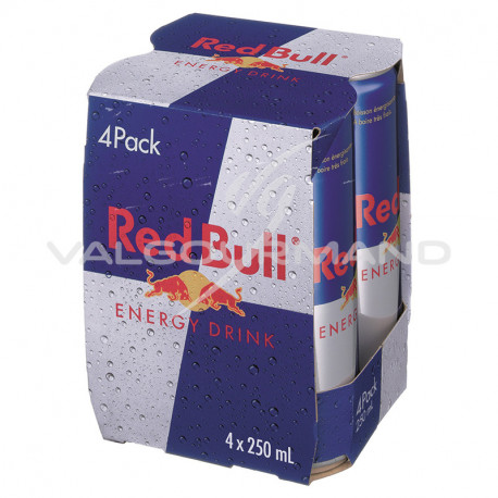 Red bull 25cl - 4 canettes
