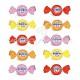 Bonbons tendres aux fruits et coeur liquide - 900g
