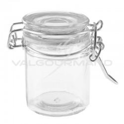Pots PM en verre Confiturier - 12 pièces (soit 1€ pièce !) en stock