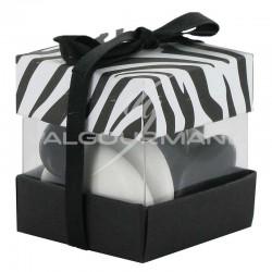 ~Boîtes cube Double Zébre - 38 pièces **1 LOT** en stock