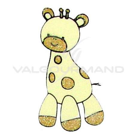 Girafe Déco autocollante - 6 pièces (soit 0.41€ pièce !)