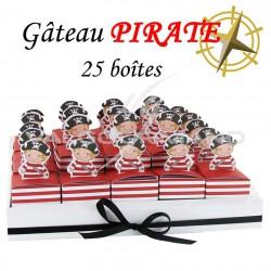 Composition Pirate - pièce en stock