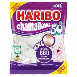 Chamallows XXL spécial BBQ HARIBO - sachet de 500g en stock