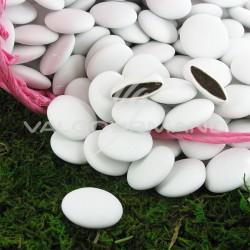 Palets BLANC - Dragées au chocolat - 1kg