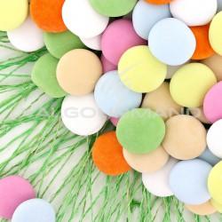 Palets assortis (3 couleurs) - Dragées au chocolat - 1kg