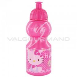 Gourde avec bouchon sport Hello Kitty - pièce en stock
