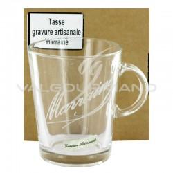 Tasse MARRAINE gravure artisanale - pièce en stock